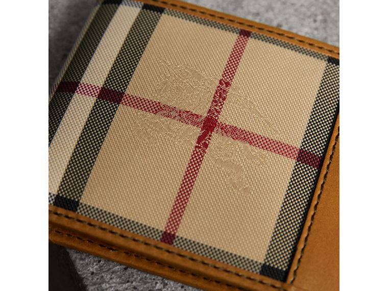 Horseferry Check Bifold Wallet in Tan - Men | Burberry Australia - cell image 1