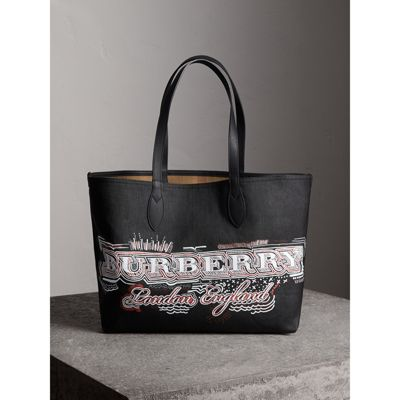 Doodle tote - White Burberry fGCiNO7X