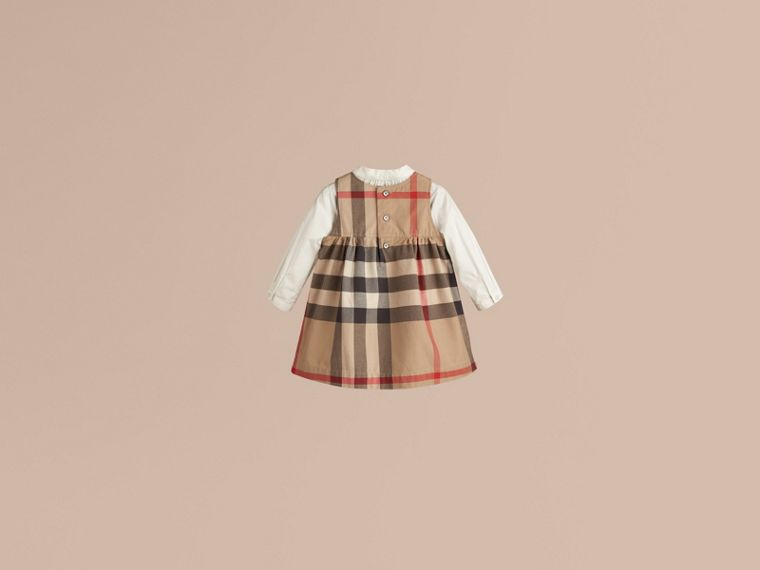 New classic Check Cotton Dress - cell image 2