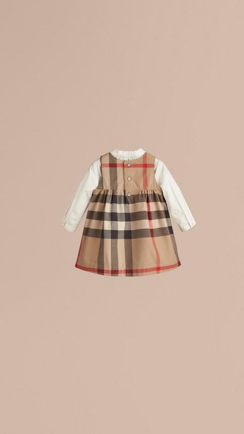 Classique nouveau Robe en coton check - Image 3