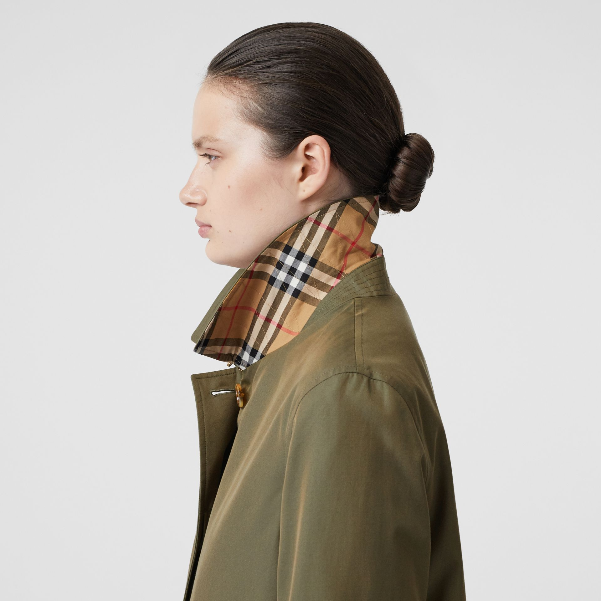 The Pimlico Heritage Car Coat in Oregano - Women | Burberry United Kingdom - gallery image 5