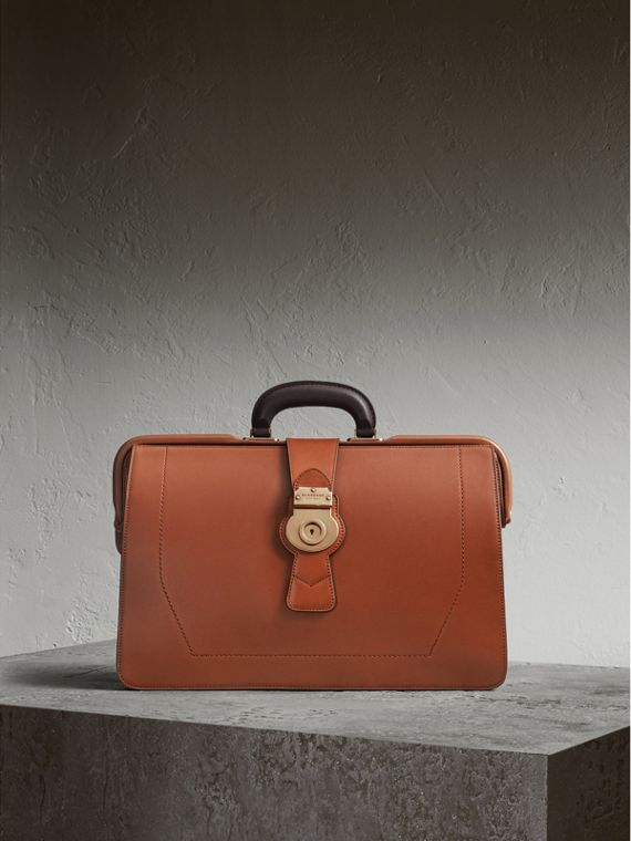 The DK88 Doctor's Bag in Tan - Men | Burberry