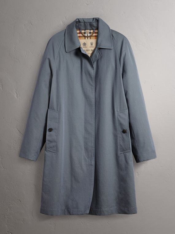 The Camden – The Car Coat dal taglio lungo (Blu Polvere) - Donna | Burberry - cell image 3