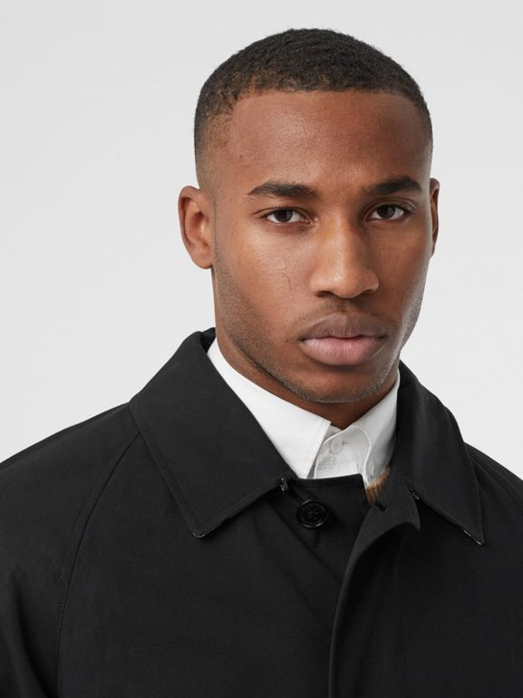 The Camden Car Coat in Black - Men | Burberry - cell image 1