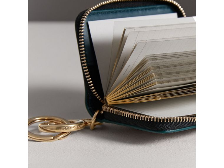 Creature Appliqué Haymarket Check Notebook Charm | Burberry - cell image 1