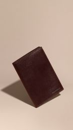 London Leather Passport and Card Holder