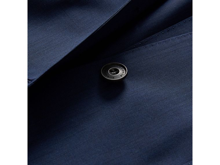 Modern Fit Stretch Wool Suit in Navy - Men | Burberry - cell image 1