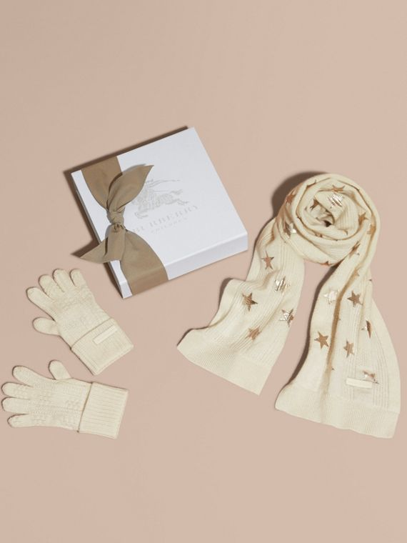 Printed Cashmere Two-piece Gift Set