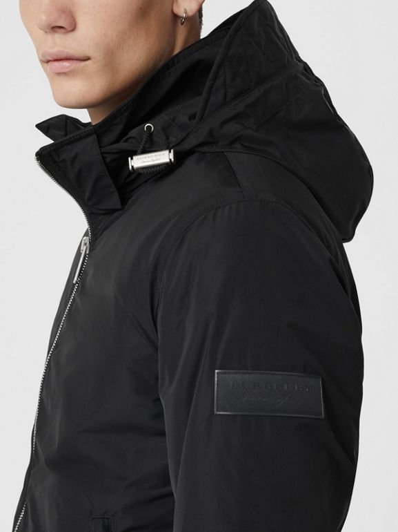 Packaway Hood Showerproof Jacket in Black - Men | Burberry Singapore - cell image 1