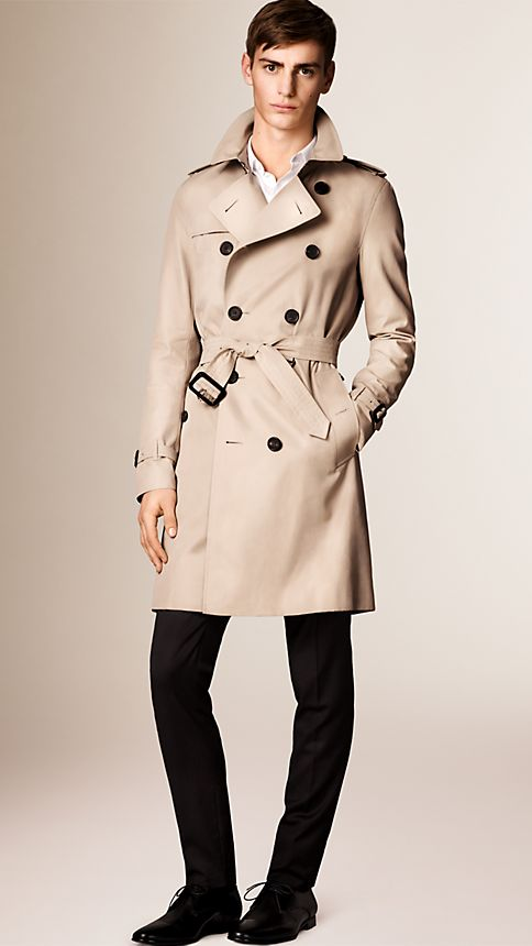 Honey The Sandringham - Long Heritage Trench Coat - Image 1