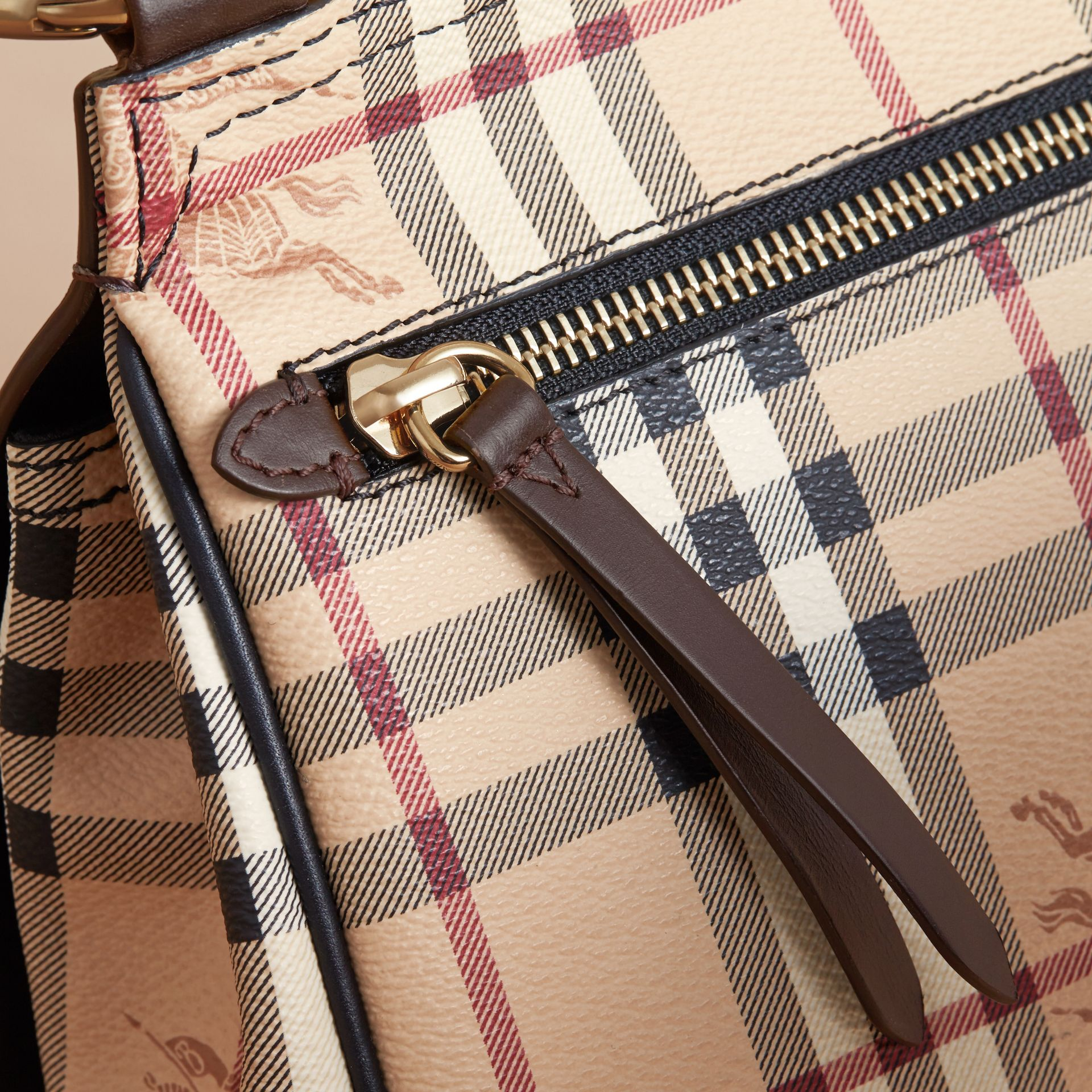 The Bridle Crossbody Bag in Haymarket Check - Women | Burberry Australia - gallery image 6