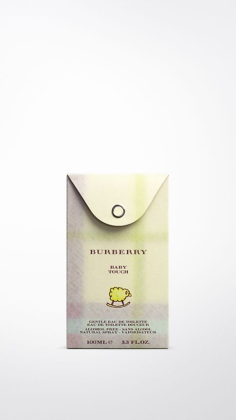 White Burberry Baby Touch Alcohol Free 100ml - Image 2