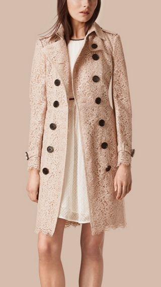 Italian Lace Trench Coat