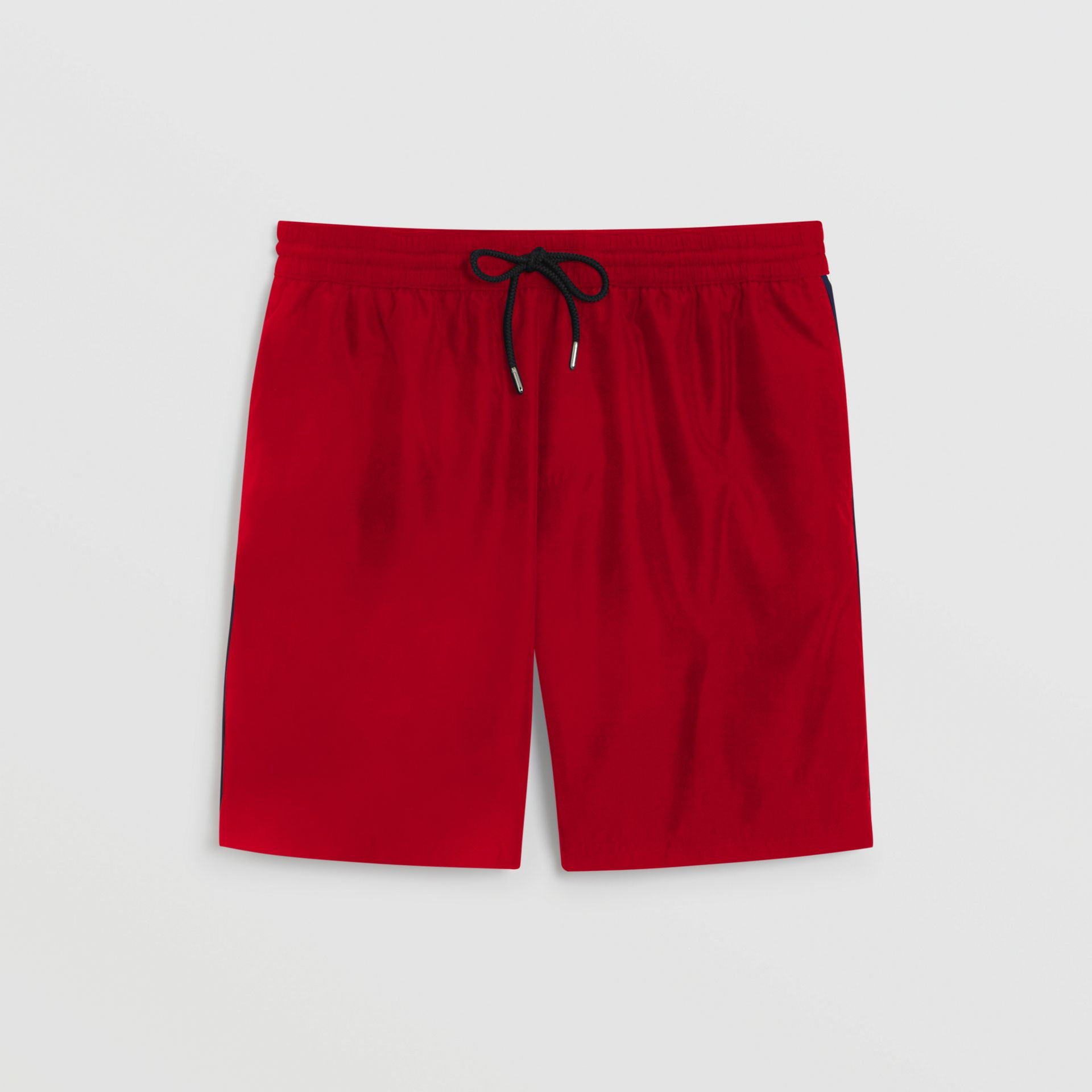 Drawcord Swim Shorts in Parade Red - Men | Burberry - gallery image 2