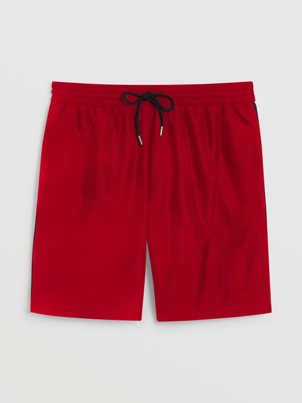 Drawcord Swim Shorts in Parade Red - Men | Burberry - cell image 2