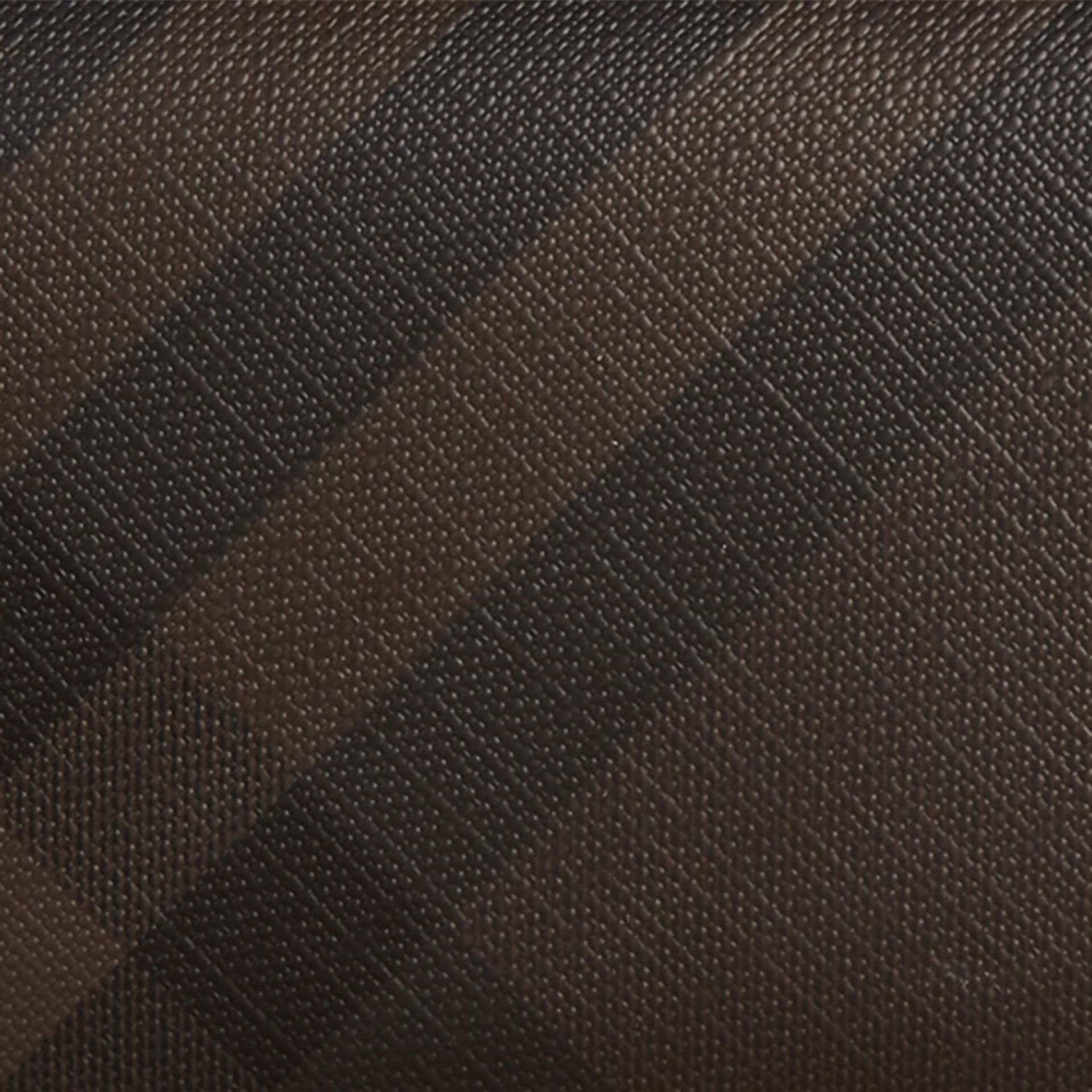 London Check Continental Wallet Chocolate/black - gallery image 2