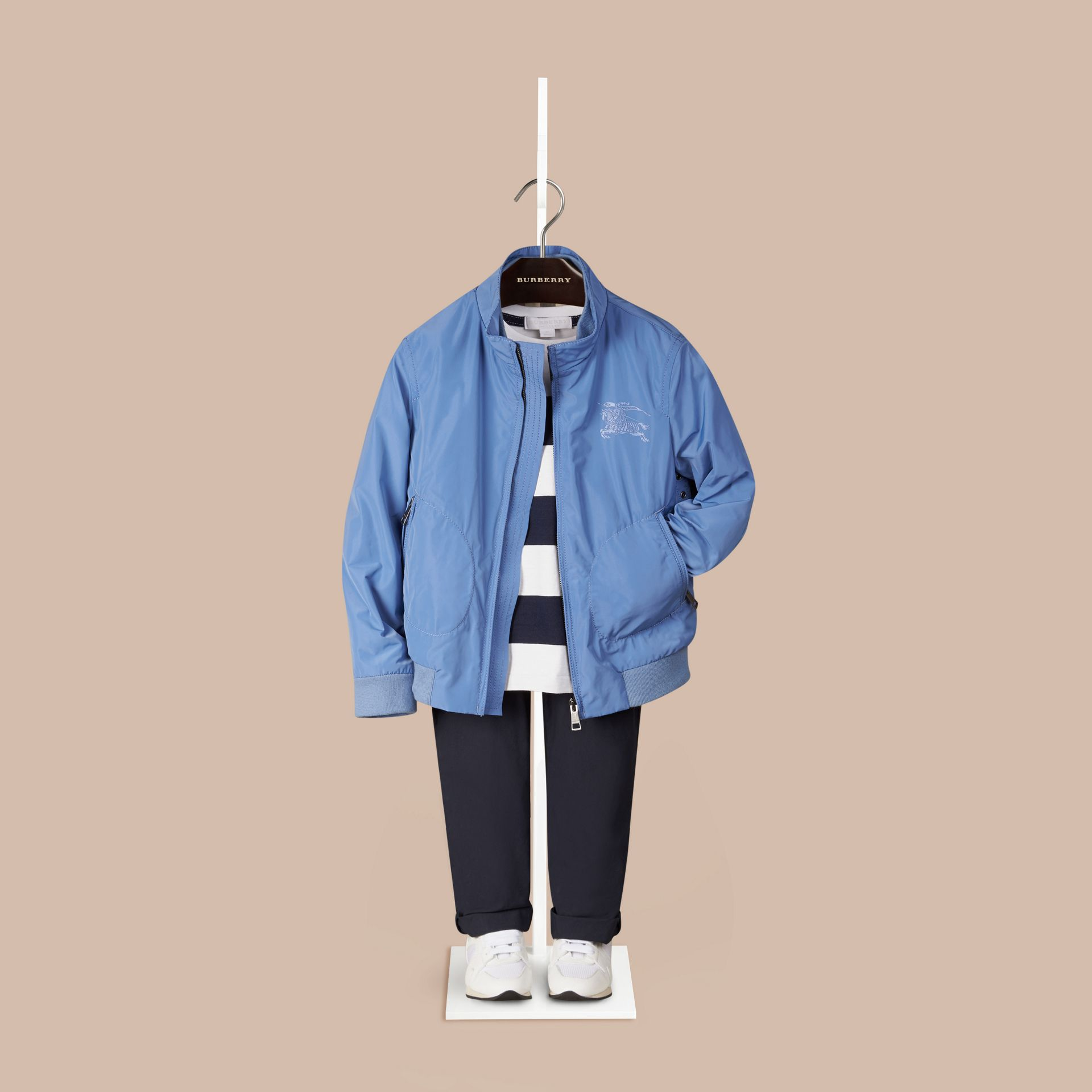 Lupin blue Packaway Lightweight Blouson - gallery image 1
