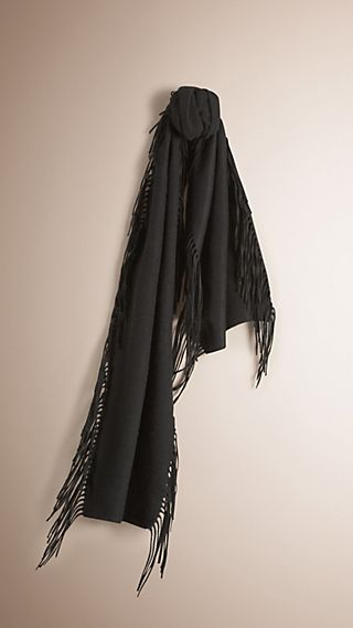 The Fringe Scarf in Cashmere