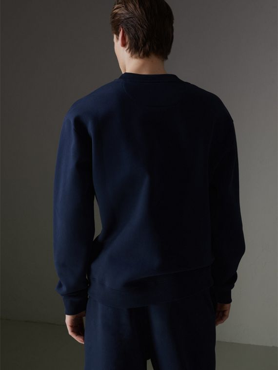 Reissued Jersey Sweatshirt in Dark Blue - Men | Burberry - cell image 2
