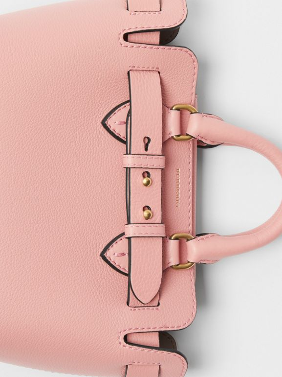 The Mini Leather Belt Bag in Ash Rose - Women | Burberry Singapore - cell image 1