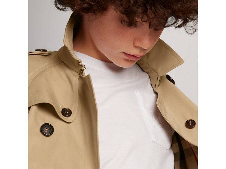 The Wiltshire Trench Coat in Honey - Boy | Burberry - cell image 1
