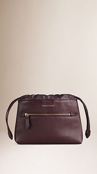 The Mini Crush in Grainy Leather