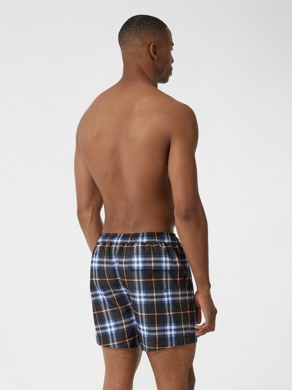 Check Drawcord Swim Shorts in Melon - Men | Burberry - cell image 1