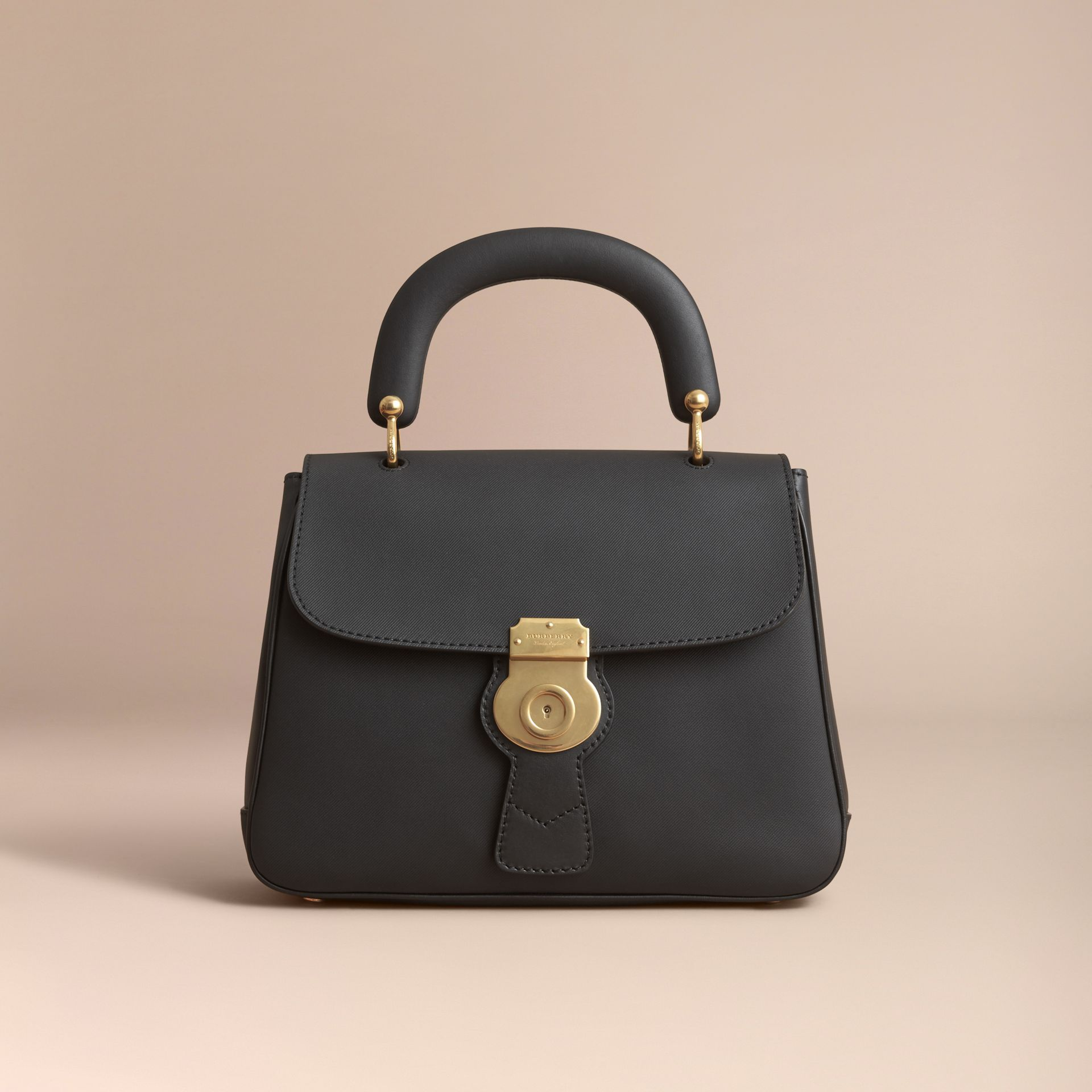 The Medium DK88 Top Handle Bag Black - gallery image 8
