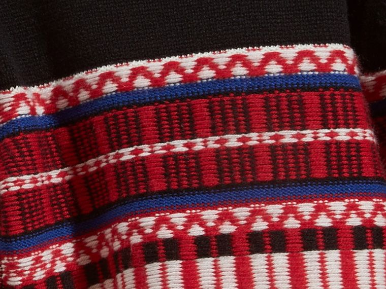 Parade red Fair Isle Wool Cashmere Sweater - cell image 1
