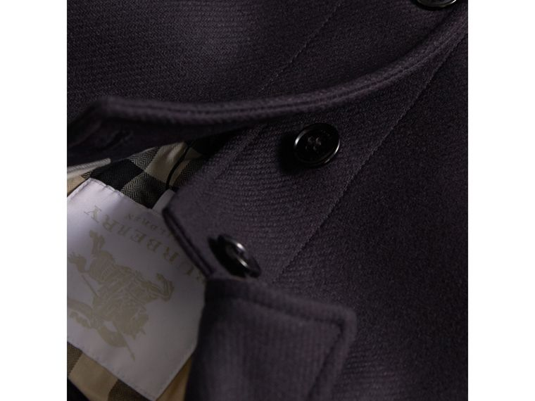 Wool Cashmere Blend Car Coat in Navy - Boy | Burberry Singapore - cell image 1