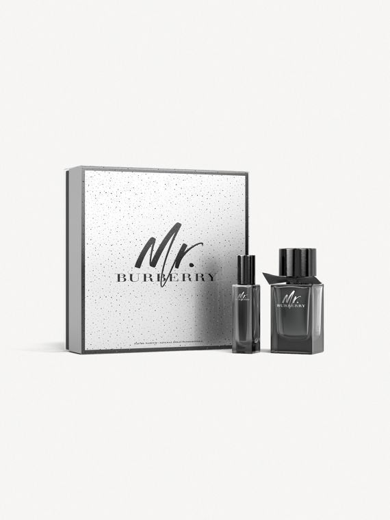 Mr. Burberry Eau de Parfum Festive Set in No Colour
