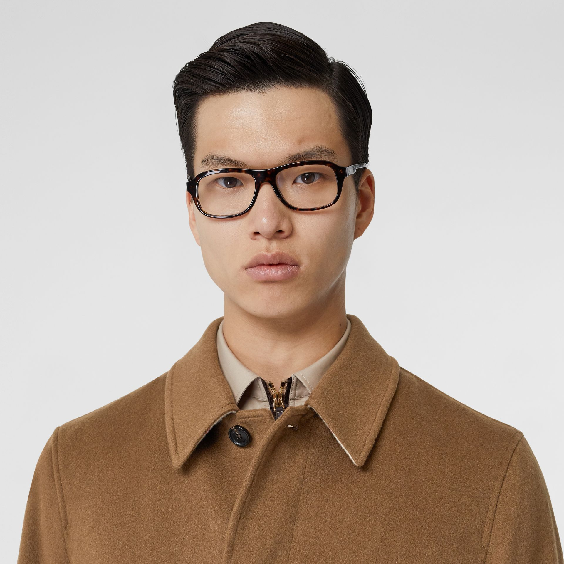 Cashmere Car Coat in Dark Camel - Men | Burberry Hong Kong S.A.R - gallery image 1