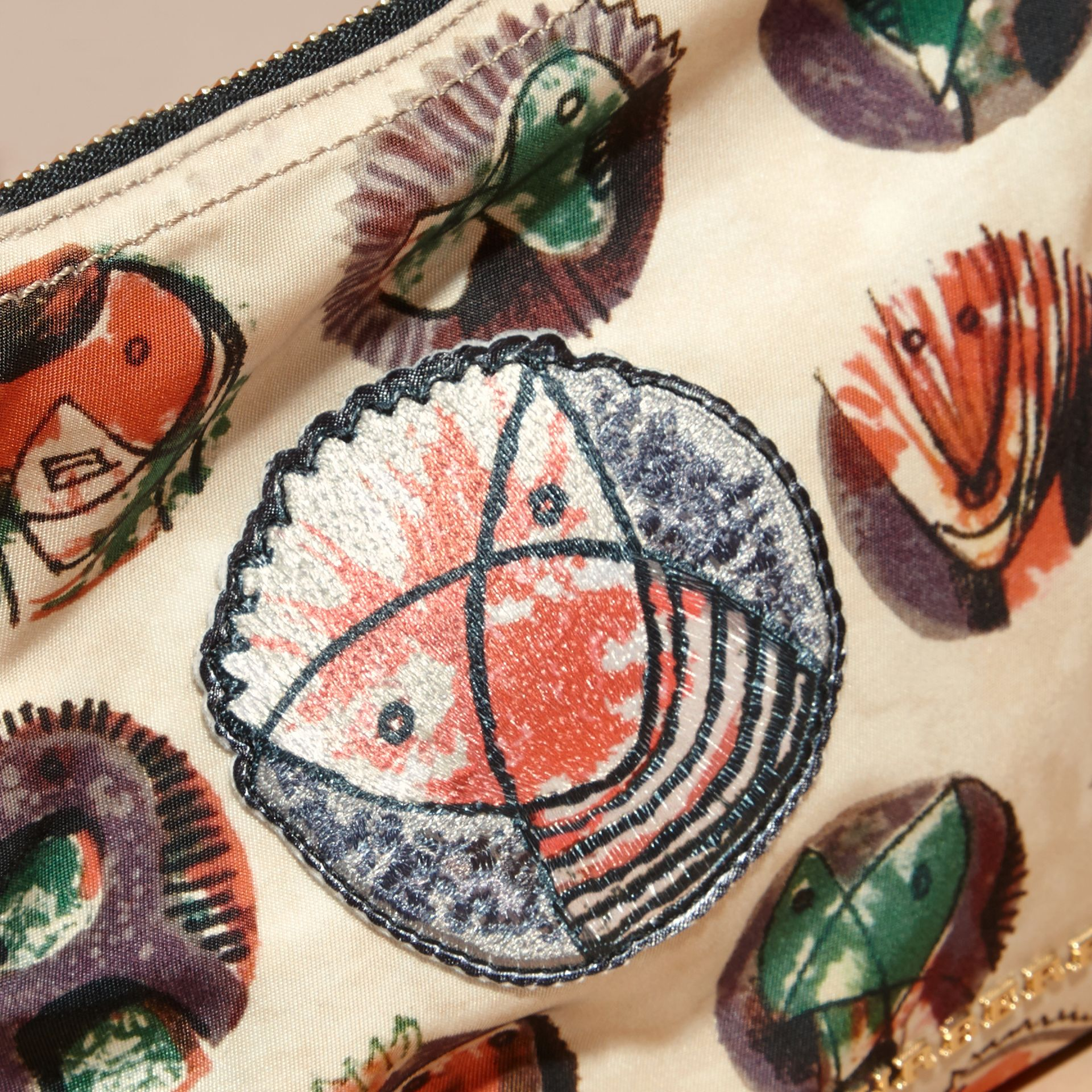Large Zip-top Pallas Heads Print Pouch - Women | Burberry - gallery image 6