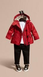 Hooded Showerproof Packaway Jacket