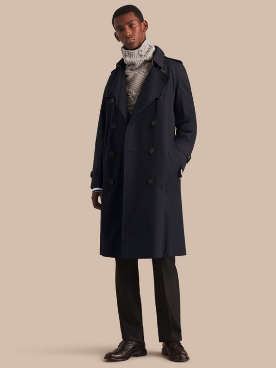 The Westminster – Long Heritage Trench Coat Navy