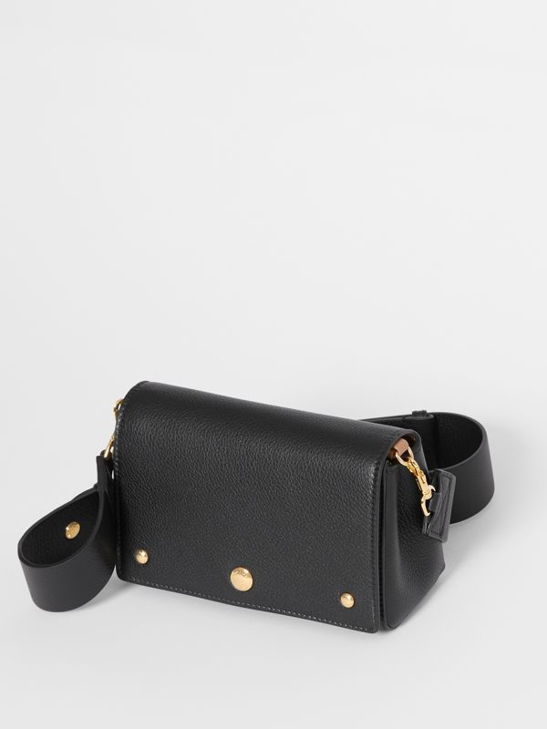 Small Grainy Leather Crossbody Bag in Black - Women | Burberry - cell image 3