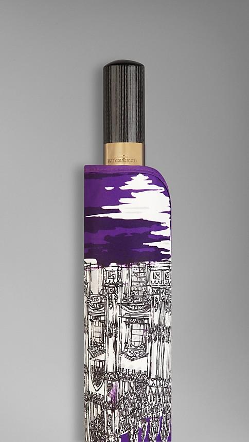 Amethyst Milan Landmarks Folding Umbrella - Image 4