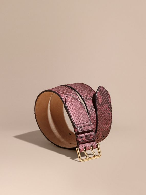 Python Belt in Elderberry