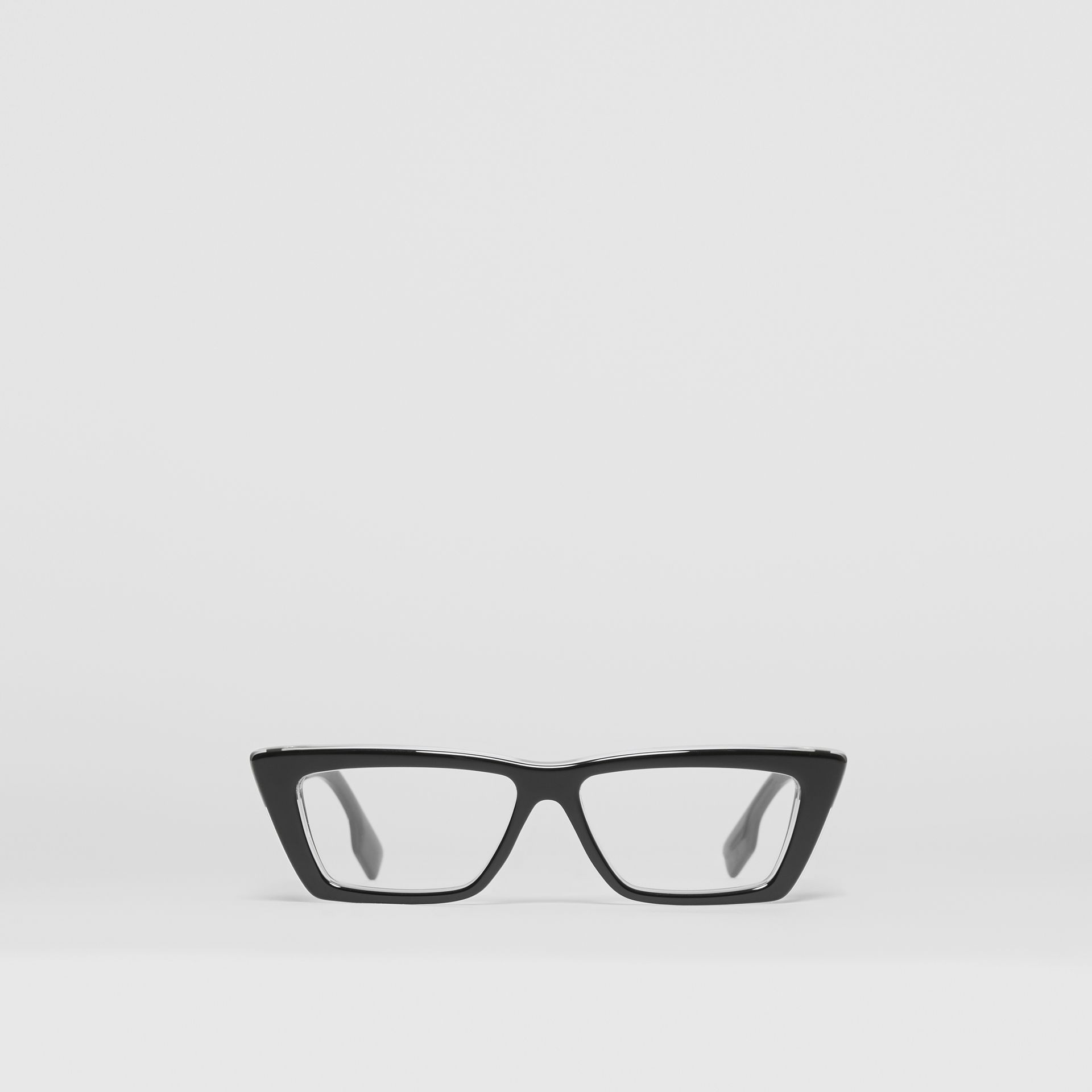 Rectangular Optical Frames in Black - Women | Burberry United Kingdom - gallery image 0