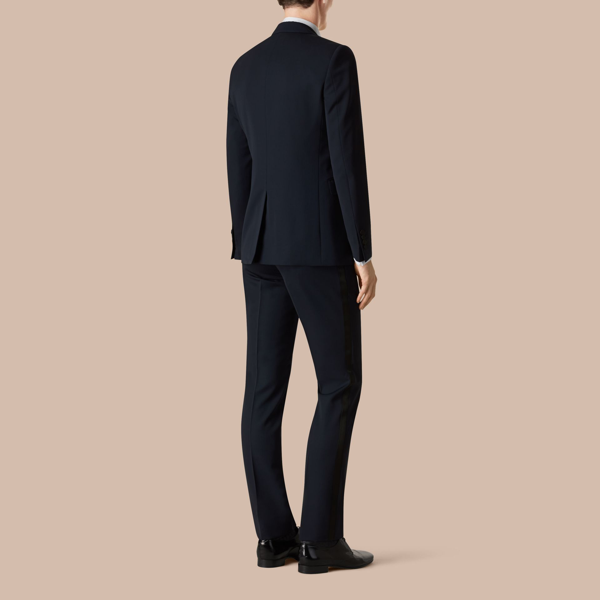 Modern Fit Virgin Wool Half-canvas Tuxedo - Men | Burberry - gallery image 3