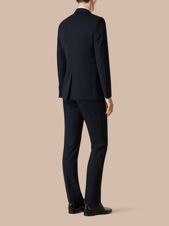Modern Fit Virgin Wool Half-canvas Tuxedo - Men | Burberry - cell image 3