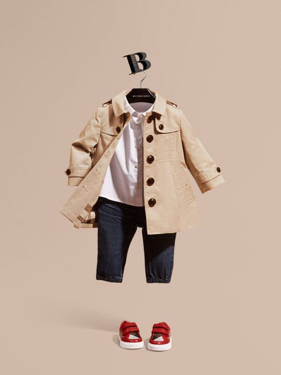 Cotton Trench Coat | Burberry Singapore