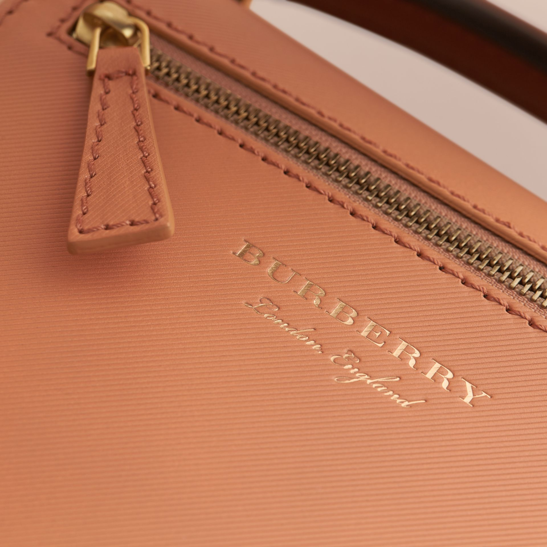 The Small DK88 Satchel in Pale Clementine - Men | Burberry - gallery image 2