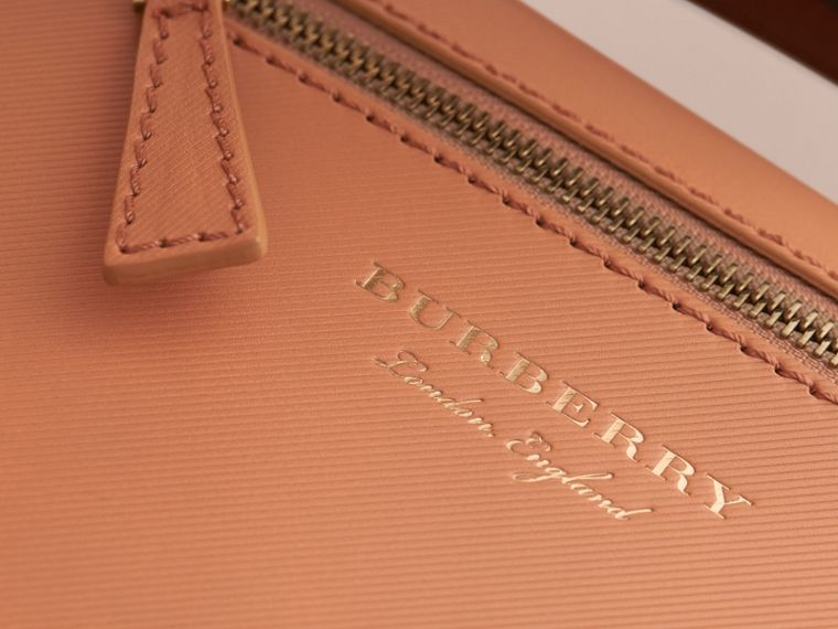 The Small DK88 Satchel in Pale Clementine - Men | Burberry - cell image 1
