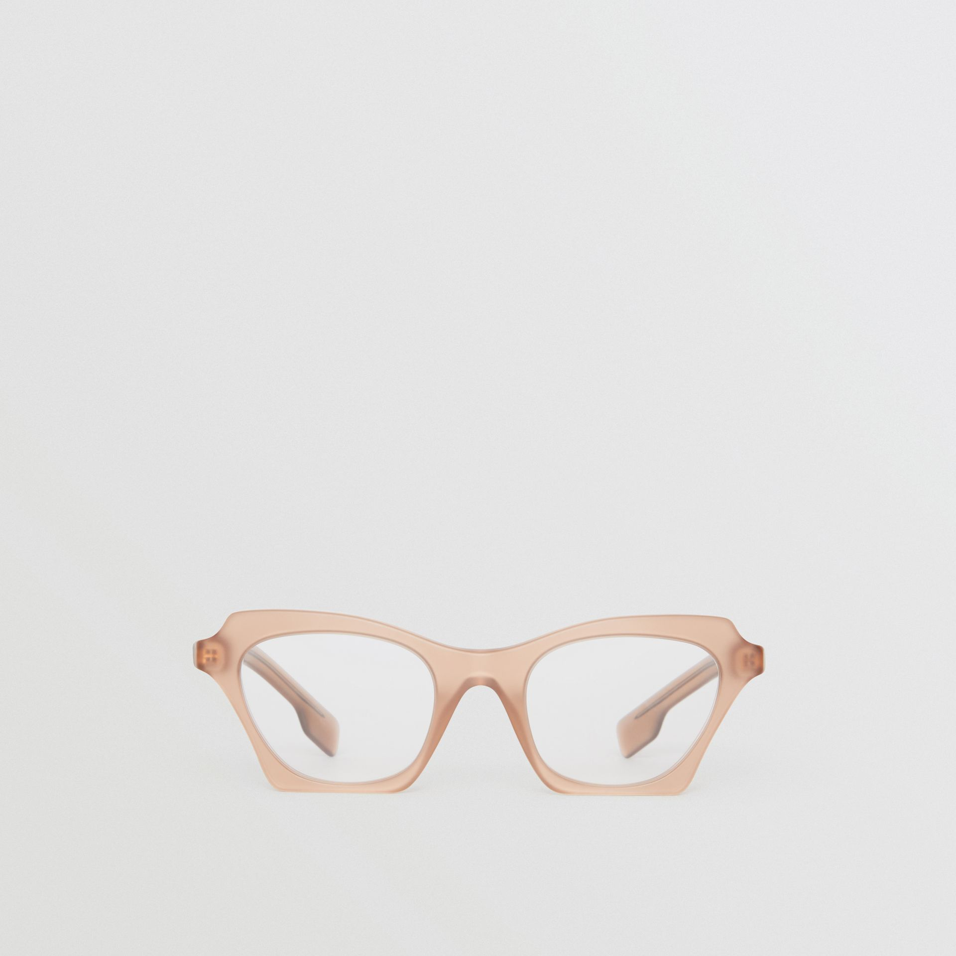 Butterfly Optical Frames in Brown - Women | Burberry Singapore - gallery image 0