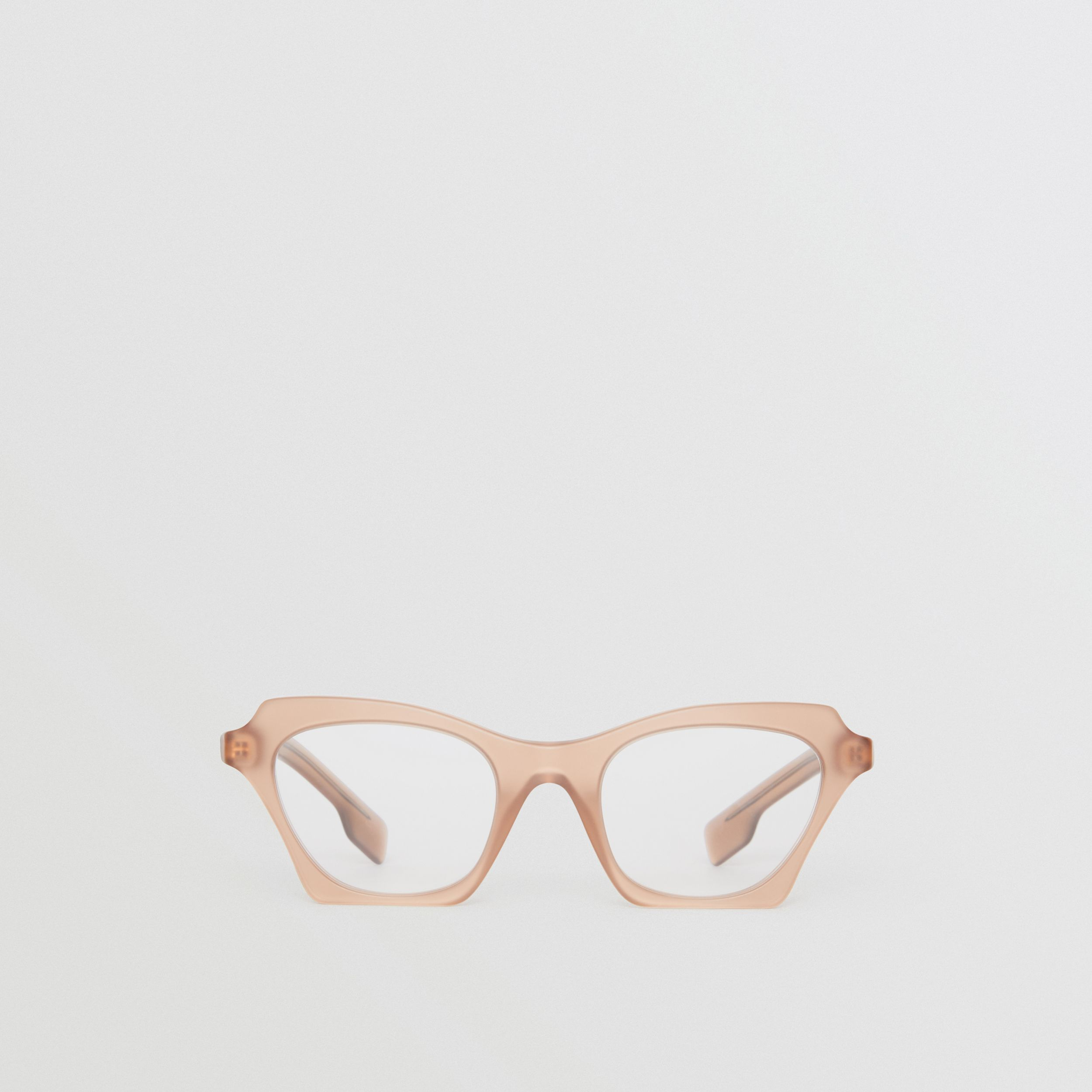 Butterfly Optical Frames in Brown - Women | Burberry - 1