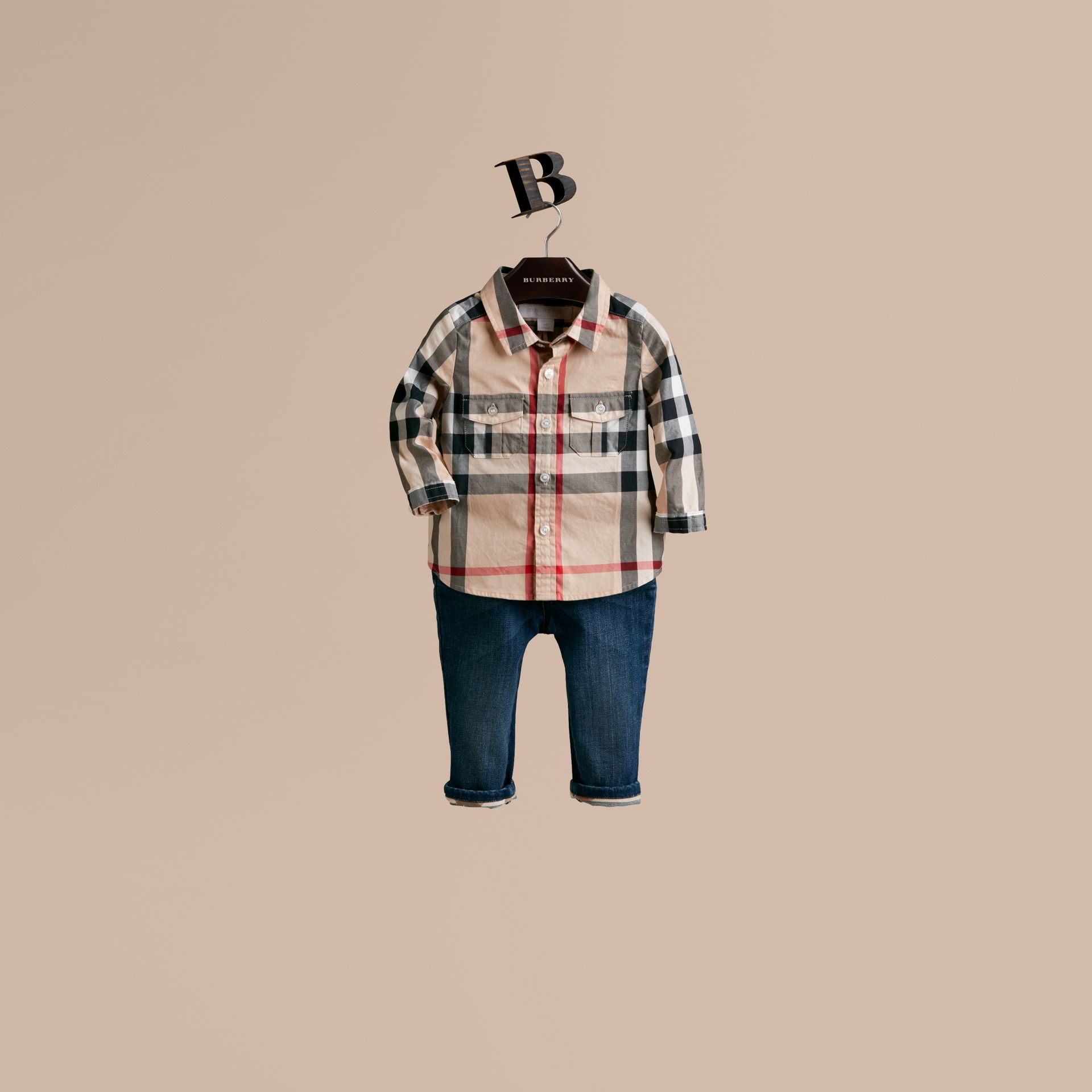 New classic Check Cotton Shirt - gallery image 1
