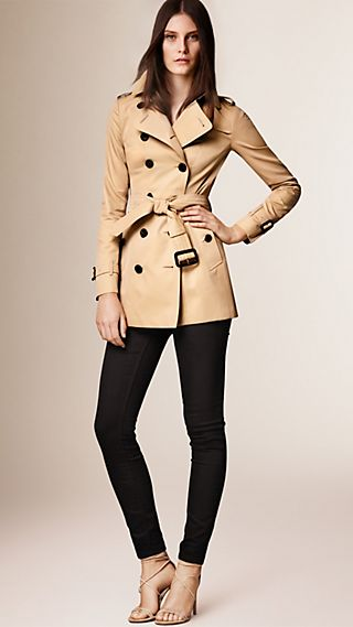 The Sandringham - Trench coat Heritage curto