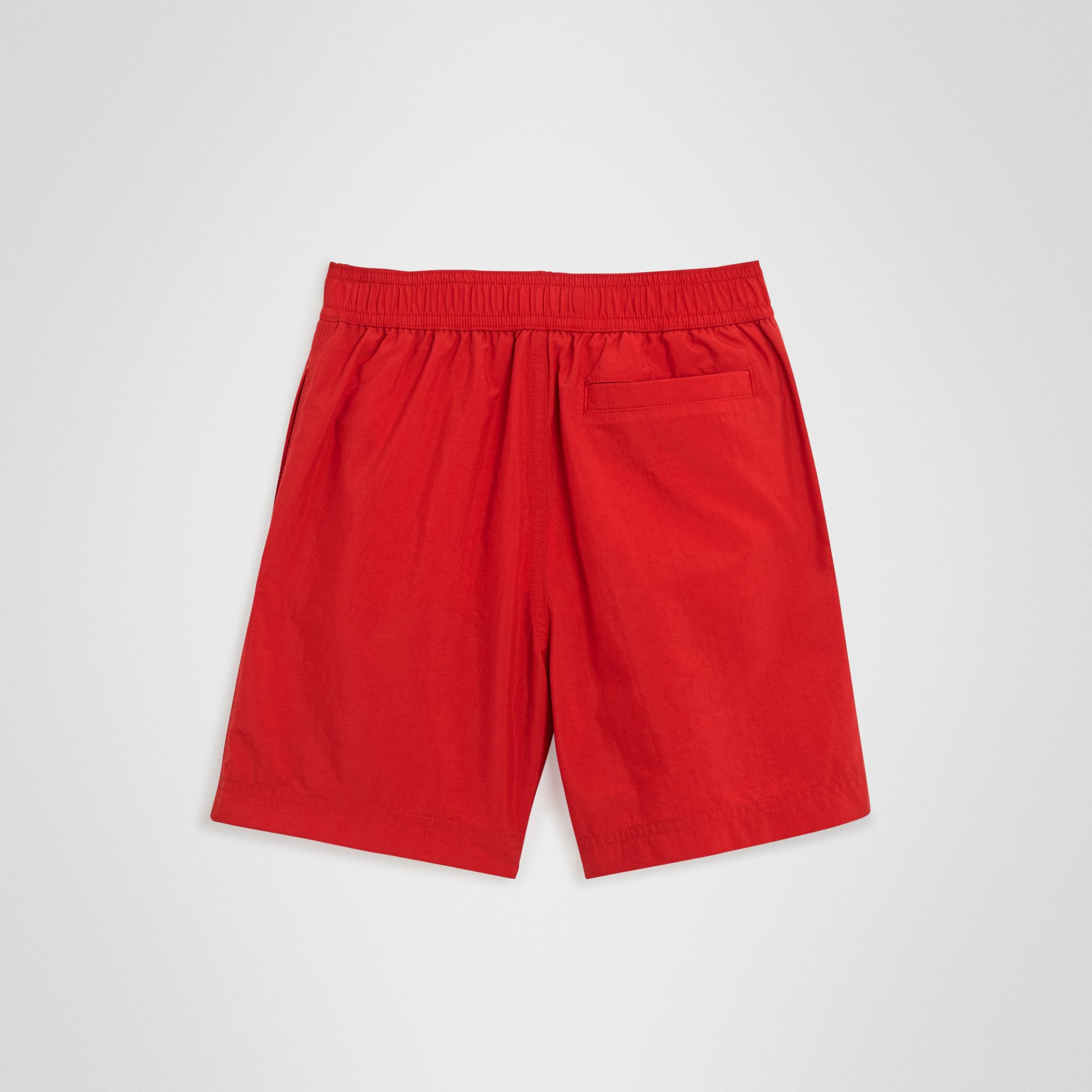 Drawcord Swim Shorts in Military Red | Burberry Singapore - gallery image 3