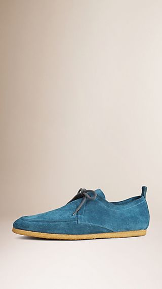 Crepe Sole Suede Shoes